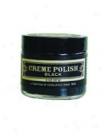 Creme Polish Black 2 Oz For A Classic/glossy Finish