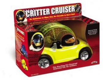 Critter Cruiser Exerciser For Small Animals - Assorted