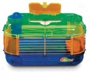 Crittertrail Mini One Home For Dqarf Hamxters/mice/gerbils - Multicolor
