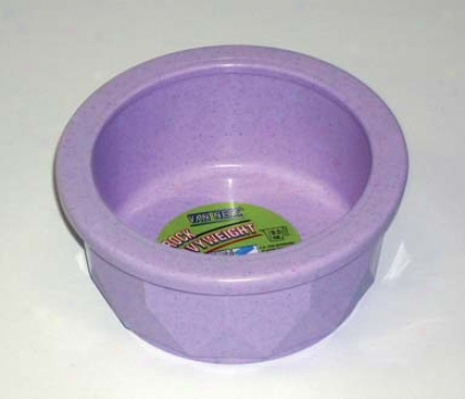Crock Title Dish For Cats/dogs - Assorted - Small