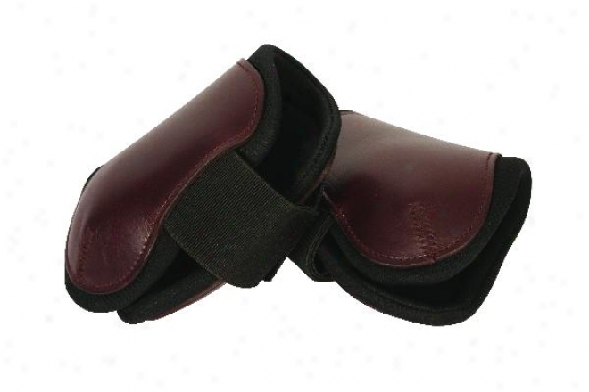Crosby Leather Fetlock Hampa Style Boot Wkth Neoprene Lining