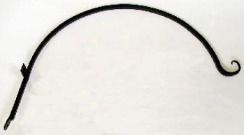 Curved Hanger For Bird Feeders - Black