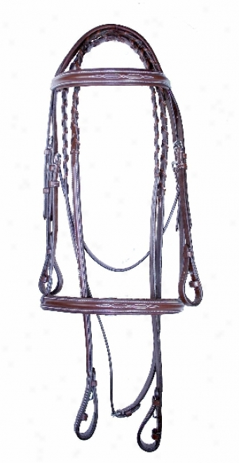 Da Vinci Fancy Raised Soft Comfort Crown Bridle