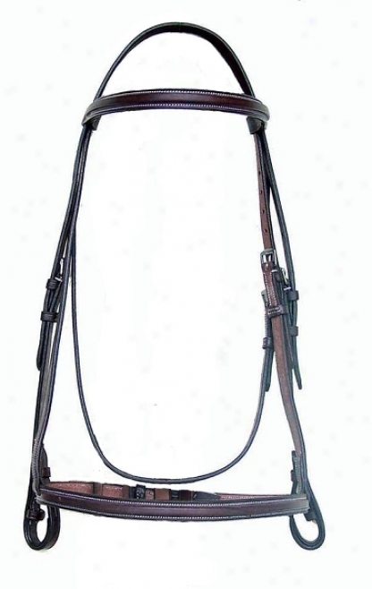 Da Vinci Regulate Raised Bridle Less Reins