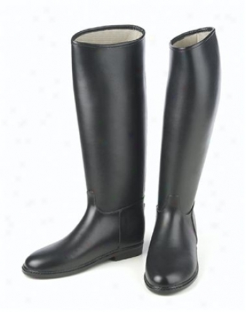 Dafna Challenger Lined High Rubber Boots X-wide Calf - Ladies