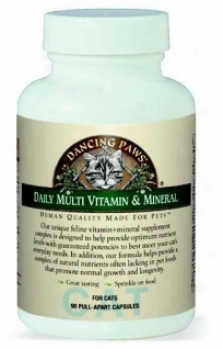 Dancing Paws Multi-vitamin & Mineral For Throw - 90ct