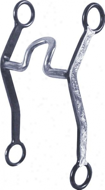 Darnall Flat Tire Tool Short Spooned Us Port Bit With Silver Overlay - 5