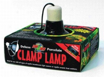 Deluxe Porcelain Clamp Lamp For Reptiles