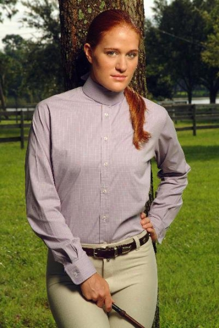 Devon Aire Ladies Stretch Shirt