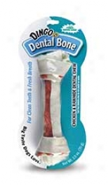 Dingo Dental Dog Treats - White - Medium