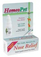 Dog Homeopet Nose Relief