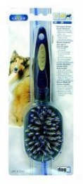 Dogit Porcupine Brush For Dogs - Black - Medium
