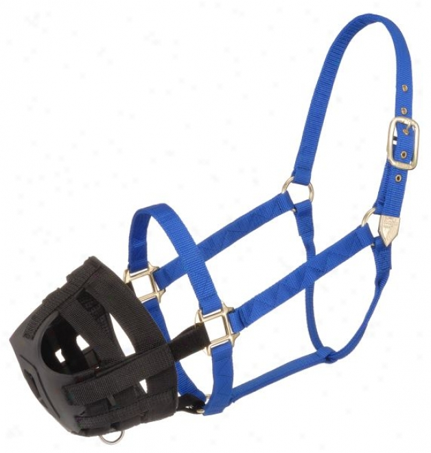 Easy Breathe Poly/nylon Grazing Muzzle - Cavalry