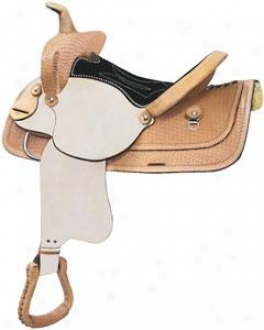 Easy Rider Beartrap Roughout Basket Saddle