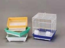 Econo Parakeet/cockatiel Cage - Assorted - 16x14x18 Inch