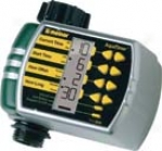 Electronic Aqua Timer For Watering Gardens/lawns - Black