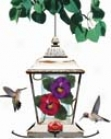 English Carden Hummingbird Feeder