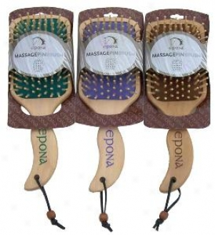 Epona Massage Pin Brush - Assorted