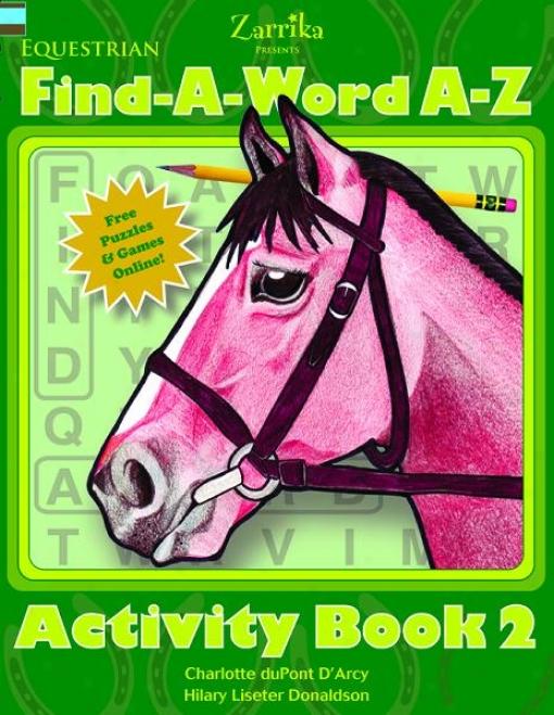 Equestrian Fill-in-a-word Book