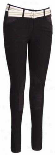 Equine Couture Childrens Sporitf Breeches With Cs2 Bottom