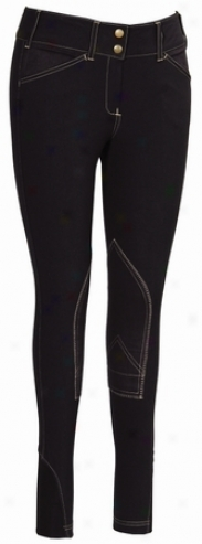 Equine Couture Childrens Sportif Natasha Breeches With Cs2 Bottom