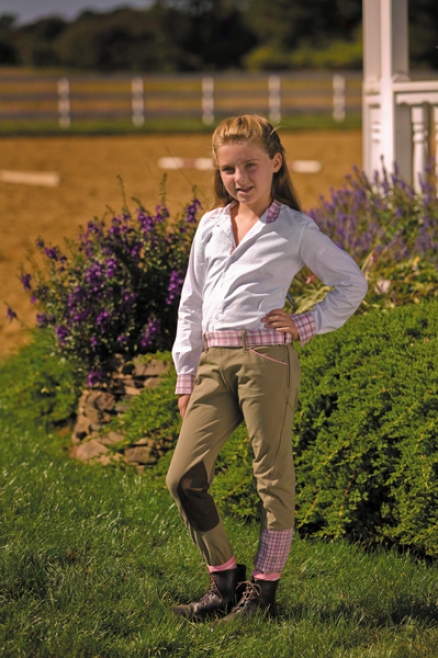 Equine Couture F3 Side Zip Breeches Child