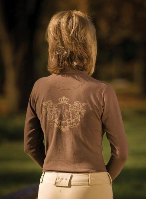 Equine Couture Ladies Longsleeve Heritage Turtle Neck