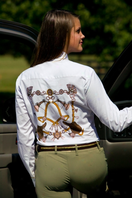 Equine Couture Nottingham Showw Shirt Ladies