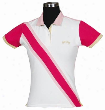 Equine Couture Oceanic Short Sleeve Polo Children