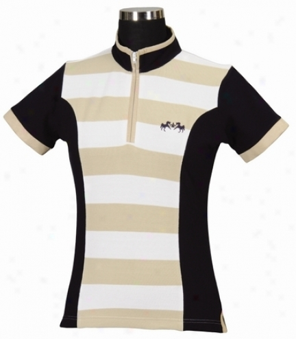 Equine Couture Schooner Deficient Sleeve Polo Shirt