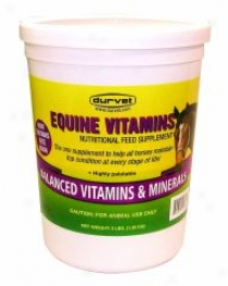 Equine Vitamins ForCa ttle