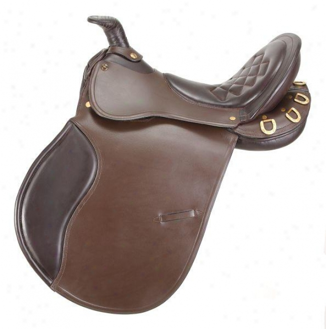 Equiroyal Comfort Trai1 Saddle With Horn