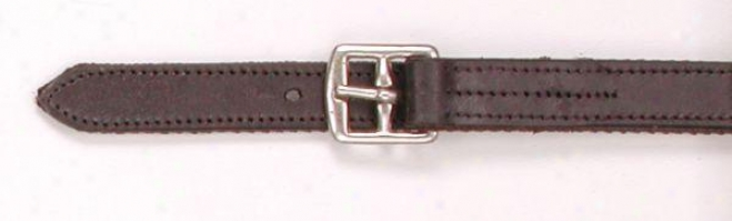 Equiroyal Nylon Lined Stirrup Leathers - Brown - 58