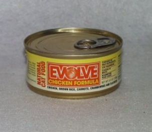 Evolve Canned Chicken Food For Cats - 5.5oz Can (case Of 24)