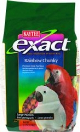 Exact Rainbow Chunky Food For Parrots
