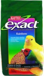 Exact Rainbow Food For Canary/finch