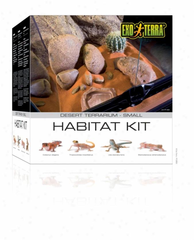 Exo Terra Desert Habitat Kit - Desert