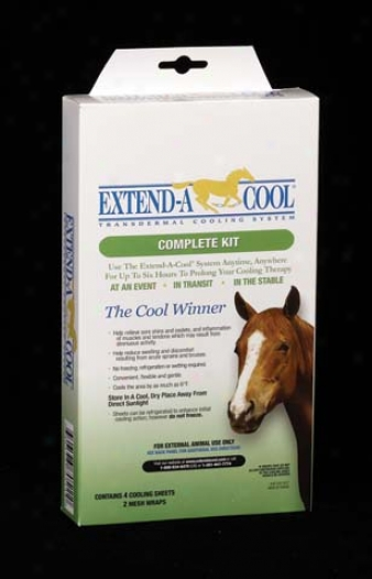 Extend A Cool Complete Kit For Horses - Assorted