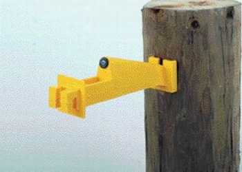 Extend E1ectric Fence Wood Post Insulator