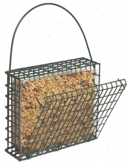 Ez Fill Snak Basket - Green - 8.75 Inch