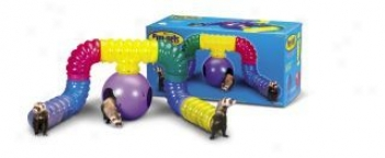 Ferretrail Play Kit Toy For Small Animals - Multicolor