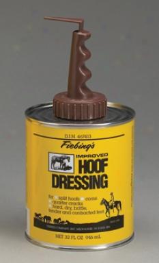 Fieblings Hoof Dressing With Brush Top - Qt