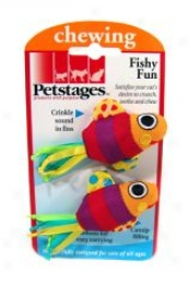 Fishy Fun Toy Because Cats - Multicolor