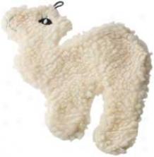 Fleece Flattie Dog Toy - 9 Inch