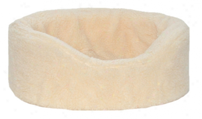 Fleece Pet Lounger Bed With Free Xtra Cover