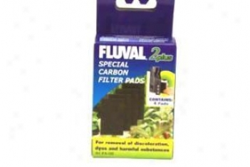 Fluval Plus Carbon Pads - 4pc