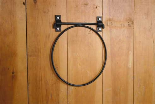 Fold Down Pail Holder - Black - 5 Gallon