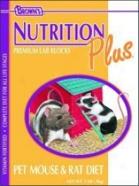 Food Nutr Plus Diet Rat/mouse - 2 Pounds