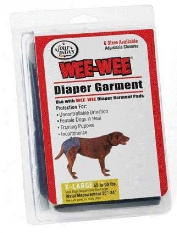 Four Paws Diaper Garment - Extra Small