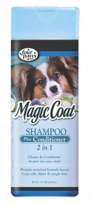 Four Paws Sorcery 2-in-1 Shampoo More Conditioner - 16 Ounce